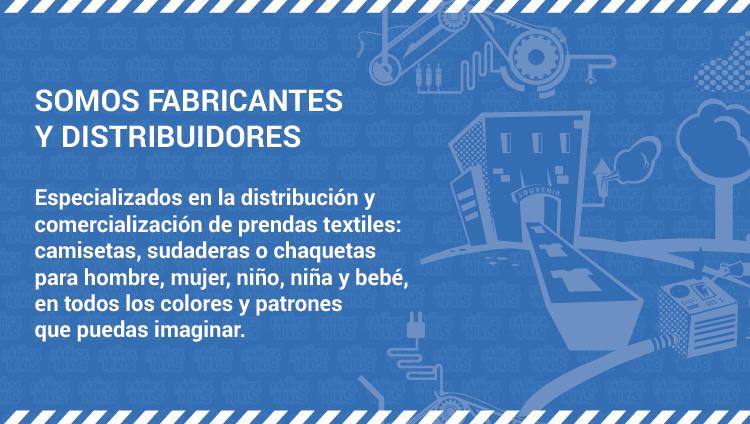 Somos fabricantes y distribuidores