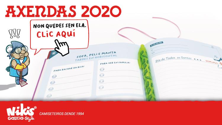 Axendas en galego 2020