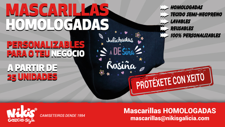 Mascarillas Personalizables