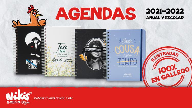Agendas anuales y escolares 2021 - 2022